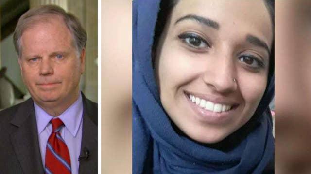 Sen. Doug Jones: ISIS bride should come back and face justice system