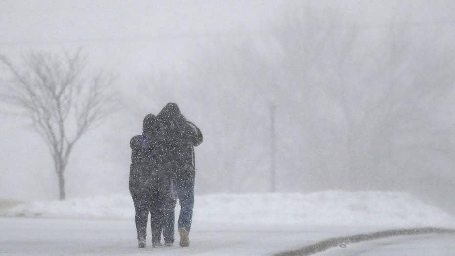 National forecast for Tuesday, February 26