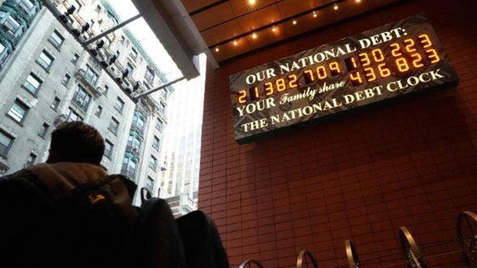Congressional Republicans declaring $22 trillion debt a security threat