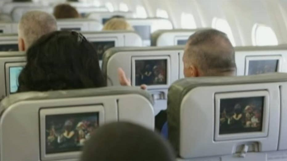 Are airplane in-flight entertainment systems spying on you?