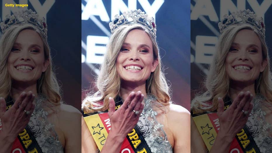 Police officer trades in her badge for a crown and wins the Miss Germany competition