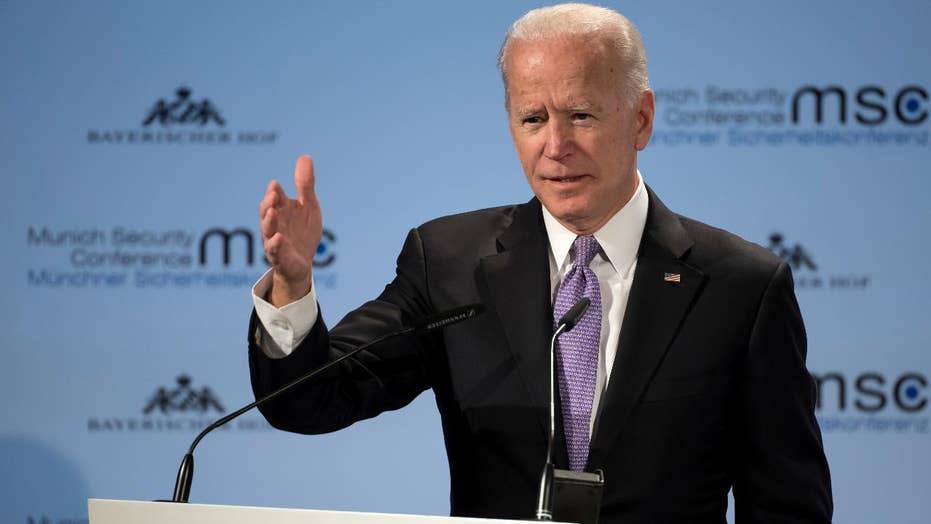 Joe Biden says he hasn't made 'final decision' on a 2020 presidential bid.