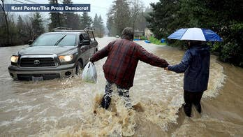 Mandatory evacuation ordered for residents along the Russian River in Northern California