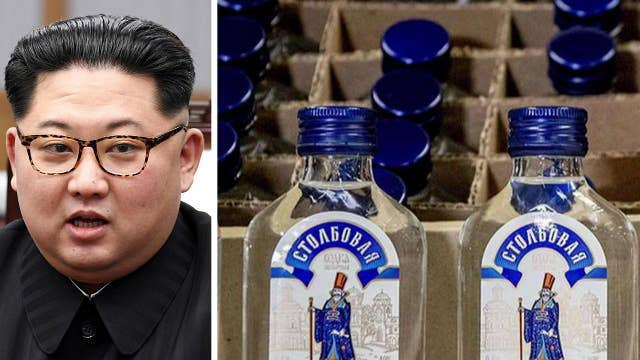 Dutch authorities intercept 90,000 bottles of booze on its way to North Korea