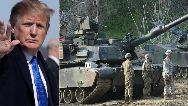 Will President Trump start the withdrawal of US troops from South Korea? thumbnail