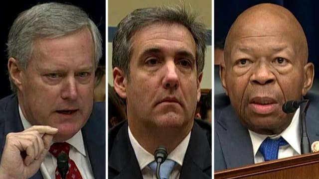 Cohen hearing opens with fireworks as Republicans move to postpone testimony