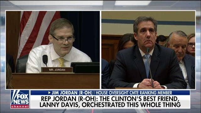 Rep. Jim Jordan delivers opening statement at Cohen hearing