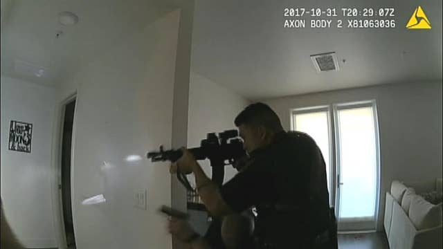 Fatal Halloween 2017 California police shooting seen in bodycam video