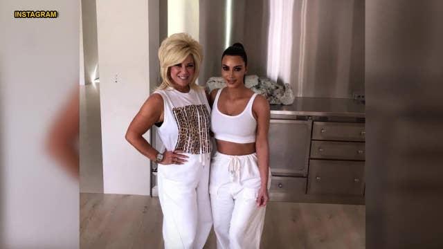 Kim Kardashian gushes over 'Long Island Medium' Theresa Caputo after reading