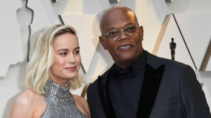 'Captain Marvel' actor Samuel L. Jackson likens President Trump to a 'plantation' owner