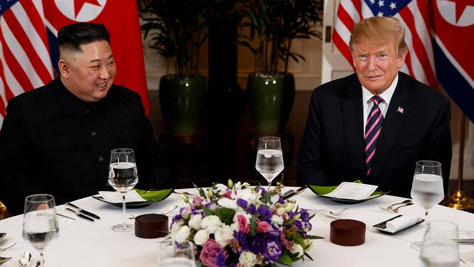 President Trump, Kim Jong Un kick off second summit with informal dinner