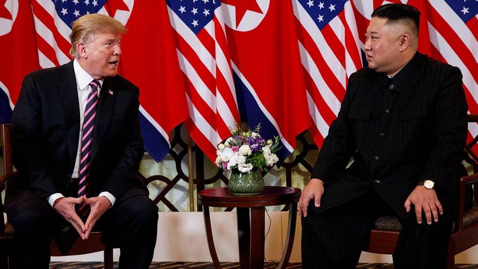 Trump touts promise of economic benefits if North Korea denuclearizes