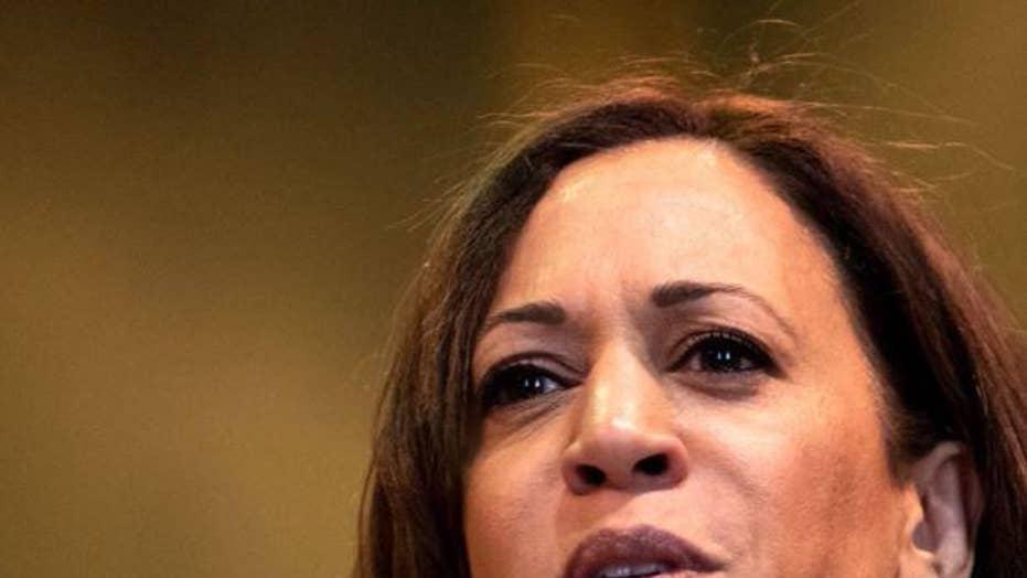 Senator Kamala Harris calls for the decriminalization of sex work and labels President Trump a racist