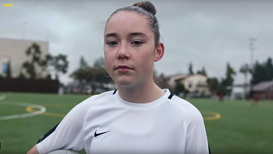 13-year-old soccer prodigy signs a multiyear endorsement deal with Nike and turns pro