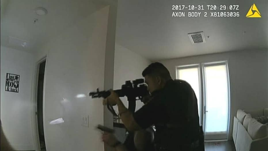 Fatal Halloween 2017 California police shooting seen in bodycam video