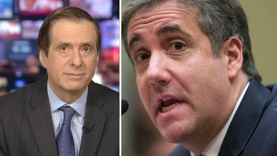 Howard Kurtz: Wall-to-wall TV as convicted criminal Michael Cohen accuses ex-boss Donald Trump