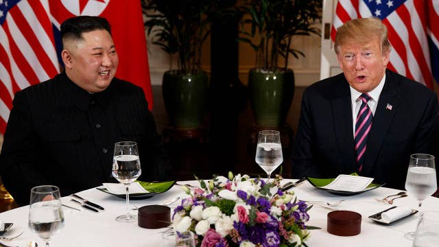 Mixed messages on signs of progress at President Trump's second summit with Kim Jong Un