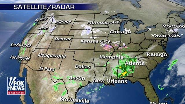 National forecast for Thursday, February 28