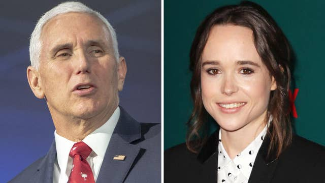 Howard Kurtz: Ellen Page owes Mike Pence an apology over a nonexistent attack