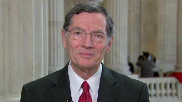 Sen. John Barrasso: The Green New Deal is a big green bomb that will blow a hole in our strong economy
