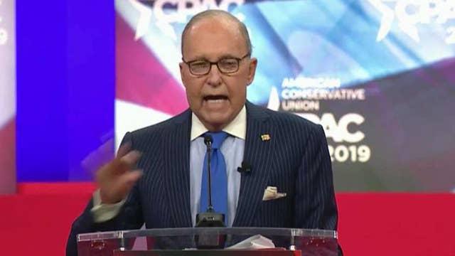 Republicans celebrate capitalism, target Democrats' far-left agenda at CPAC
