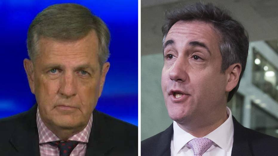 Brit Hume: Michael Cohen is a broken man