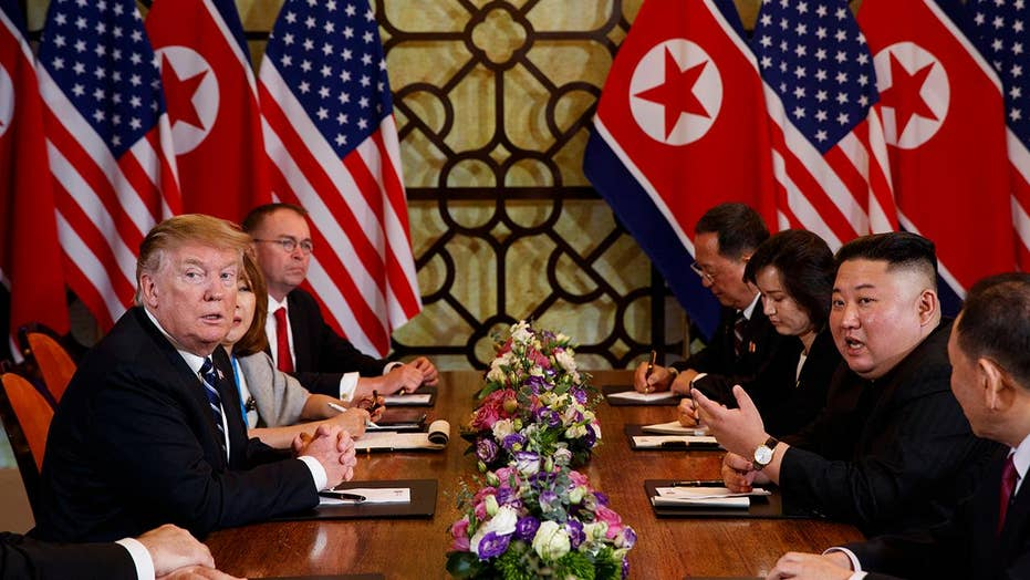 President Trump, Kim Jong Un abruptly cut short negotiations