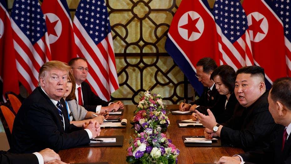 President Trump, Kim Jong Un abruptly cut short negotiations