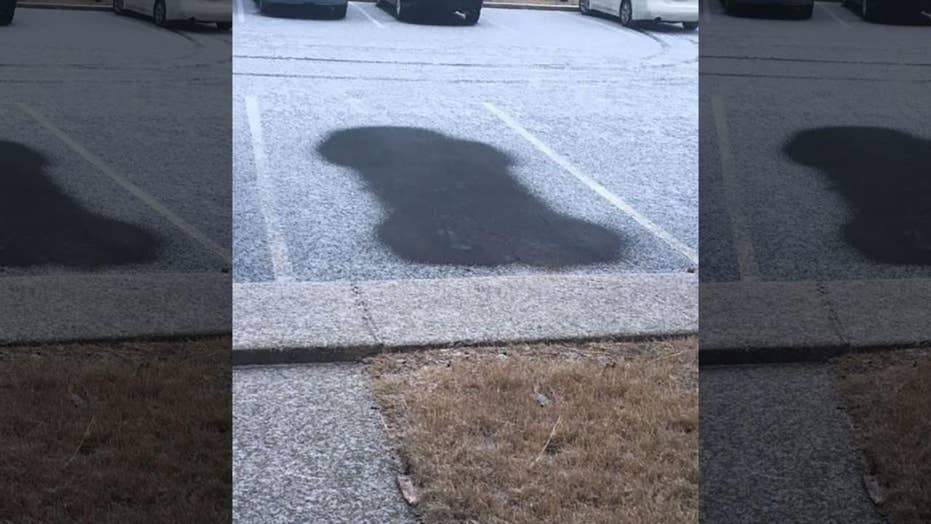 HOA threatens resident with fine after car leaves unusual shape in snow: report