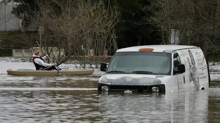 'Atmospheric river' weather system spawns massive flooding in California