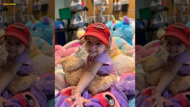 Parents raise awareness on childhood ovarian cancer after their 2-year-old daughter is diagnosed with disease