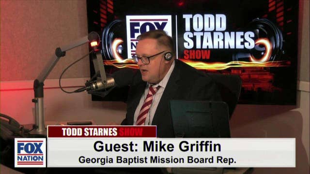 Todd Starnes and Mike Griffin