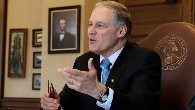 Will focus on climate change separate Gov. Inslee from Democrats' crowded 2020 presidential field?