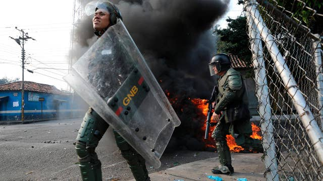 Trump administration won't rule out military action in Venezuela