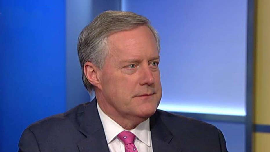 Mark Meadows responds to racism accusation, calls for the DOJ to investigate Michael Cohen for perjury