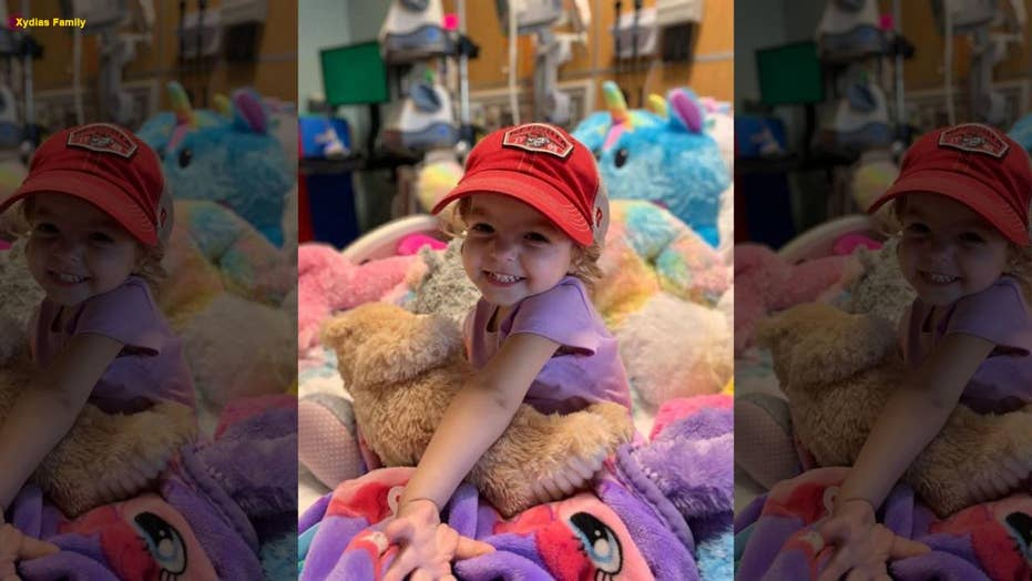 Parents raise awareness on childhood ovarian cancer after their 2-year-old daughter is diagnosed with the disease