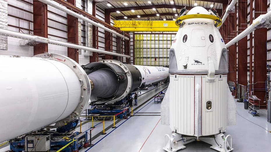 SpaceX prepares for historic launch