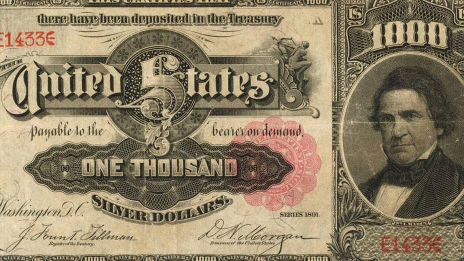 Extremely rare 'unicorn of US paper money' sells for $1.9 million