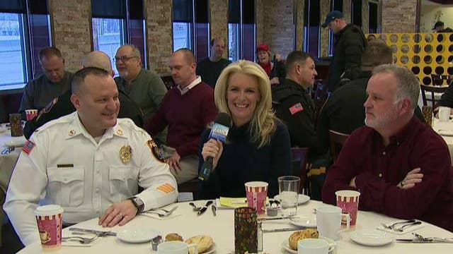 New Jersey restaurant hosts breakfast with local law enforcement