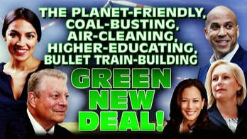 A new report estimates the Green New Deal would cost $93 trillion