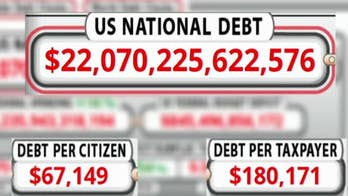 US national debt hits a record $22 trillion