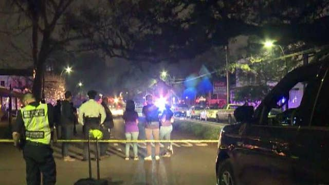 Two dead, six injured in New Orleans after car slams into crowd
