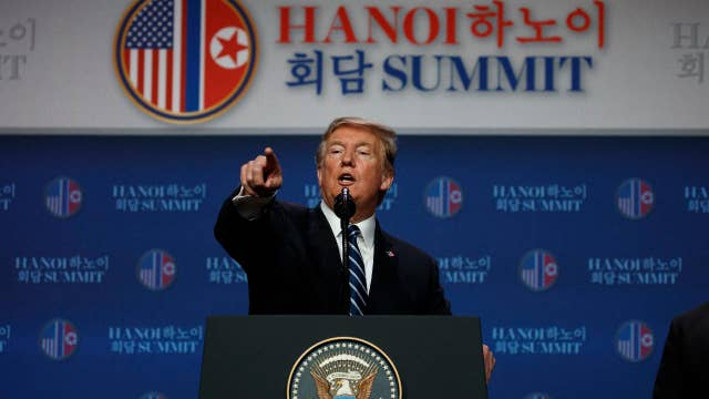 Media hit Trump for failed summit