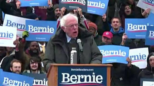Bernie Sanders kicks off his 2020 presidential campaign with a rally in his hometown of Brooklyn, NY