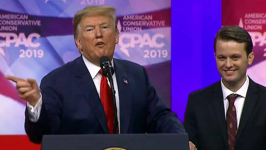 Conservative attacked on Berkeley campus joins Trump onstage at CPAC