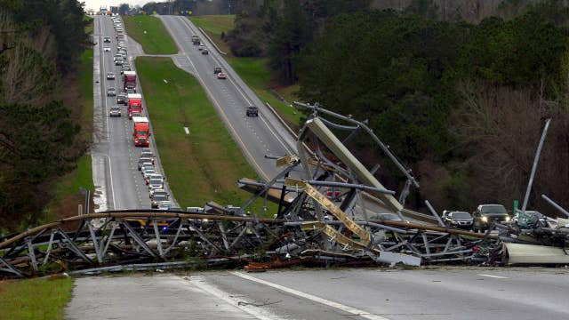 Search and rescue efforts under way in Alabama after 'catastrophic' tornado