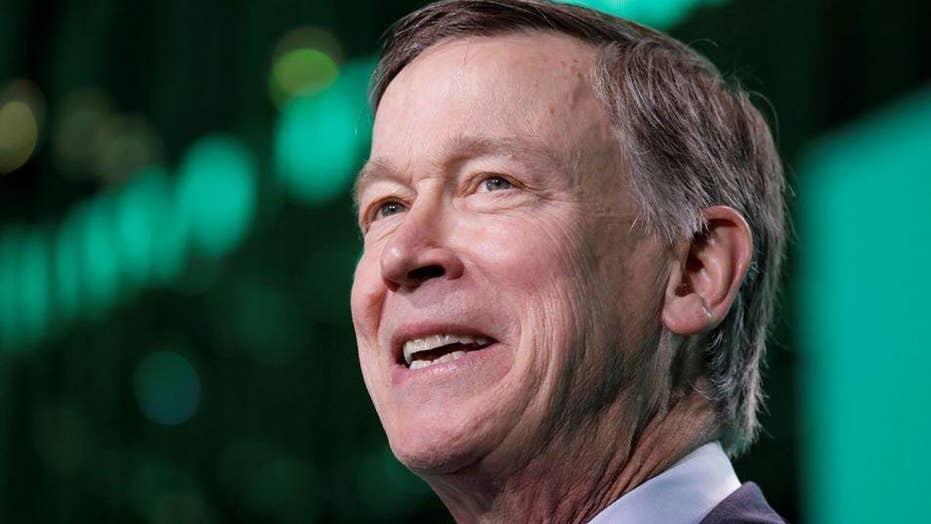 Colorado Governor John Hickenlooper jumps into the 2020 race for the Democratic presidential nomination