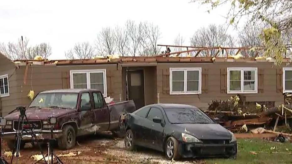 At least 23 dead after tornado tears through Alabama