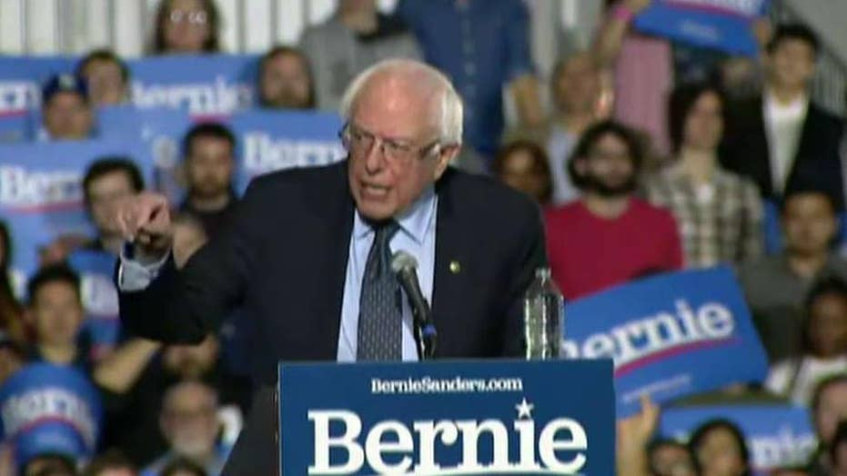 Bernie Sanders kicks off 2020 presidential campaign with large back-to-back rallies