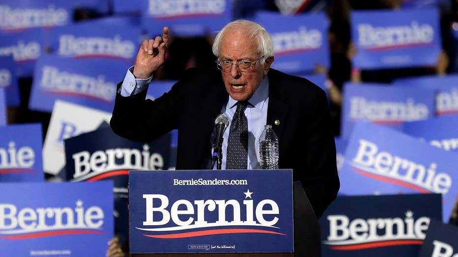 Sanders launches 2020 bid as new polling shows voters find his age, socialist identity undesirable